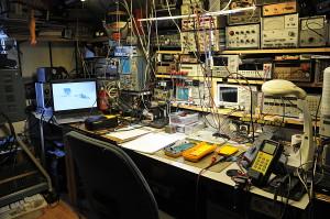 Een deel van mijn lab.