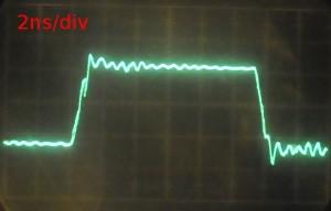 Zp ziet het eruit op een 5 GHz sample scoop