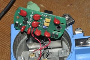 Een van de 6 PCB's