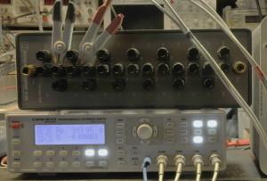 Testen met een ESI-1010 standaard