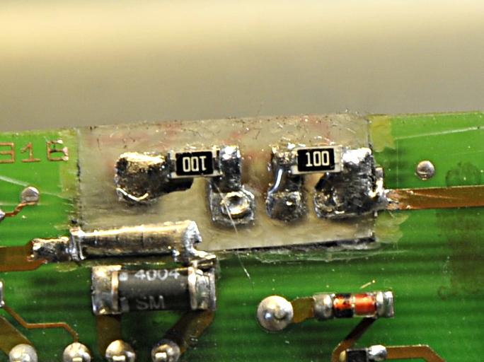The new resistors